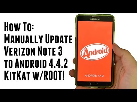 How To Manually Update Verizon Note 3 to Kit Kat 4.4.2 Keeping Root