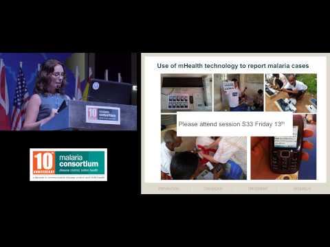 Dr Arantxa Roca-Feltrer at JITMM 2013 - Malaria surveillance in Cambodia