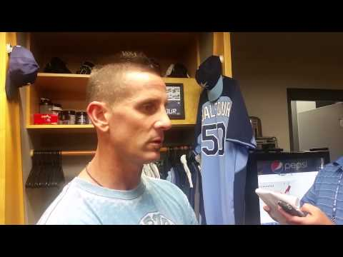 Rays' Grant Balfour On Being Designated For Assignment