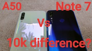 Samsung Galaxy A50 vs Redmi Note 7| Phone Comparison| Camera Test| Philippines|