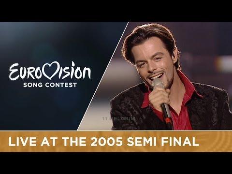Nuno Resende - Le Grand Soir (Belgium) Live - Eurovision Song Contest 2005