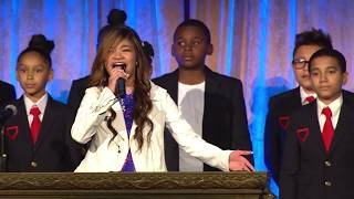 A Million Dreams - Angelica Hale (with Dream Kids Choir)