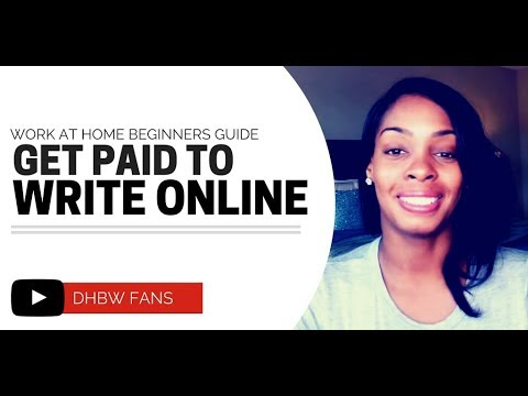 Get Paid To Write Poetry. Articles. Reviews Online. & More!