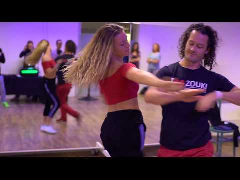 Bess & Gert in 'continuous movements' workshop demo ~ Zouk Soul