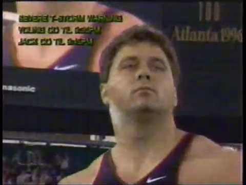 DREAMS of shot put..The best there ever was.