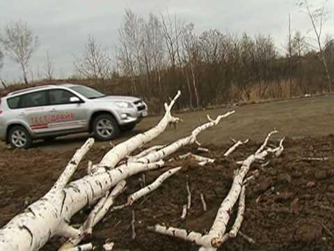 Автопутешествие в Таволгу на автомобиле Toyota RAV4