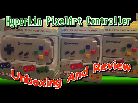 Hyperkin PixelArt Controller Unboxing and Review