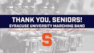 Syracuse Marching Band Senior Day