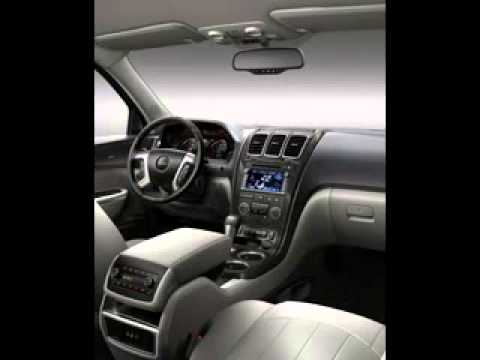 2014 Gmc Acadia Interior Youtube