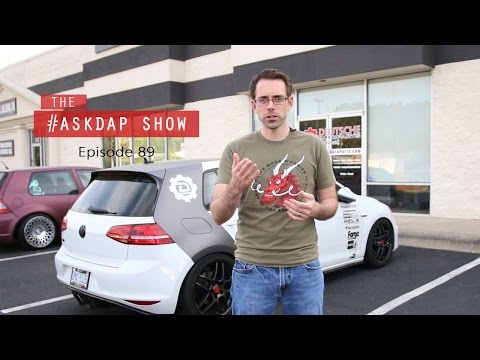 Askdap Episode 89 | CV Boots on Low Cars and Audi Oil Consumption