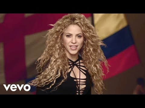 Shakira - La La La (brazil 2014) Ft. Carlinhos Brown video