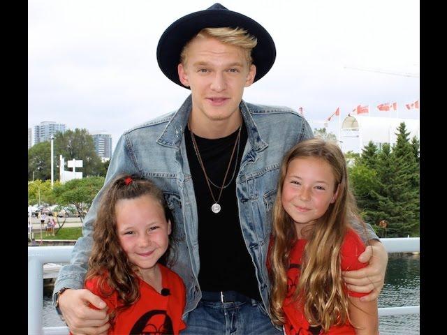 Cody Simpson, Calum Worthy, Sabrina Carpenter, and The Next Step Dancers