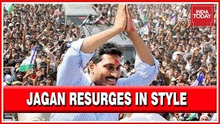 Jagan Mohan Reddy Triumphing With Double Victory As He Trumps The Anti Incumbency Wave