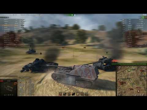 Jagdpanther II, Степи, Стандартный бой