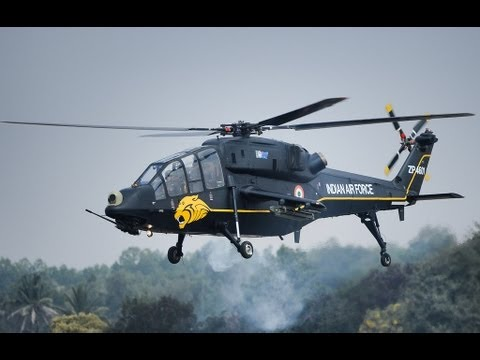Indian Air Force-Light Combat Helicopter in ACTION