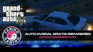 [GTA V] Trucje om je auto overal gratis repareren - geen cheat  (GTA5) - Dutch Commentary