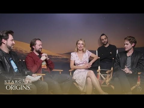 The Cast Of Stargate Origins Answer Your Questions Live! | Stargate Origins