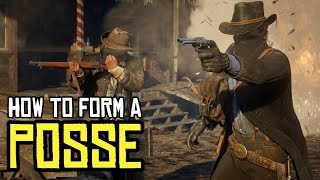 How to Join Friends and Form Posses in Red Dead Online