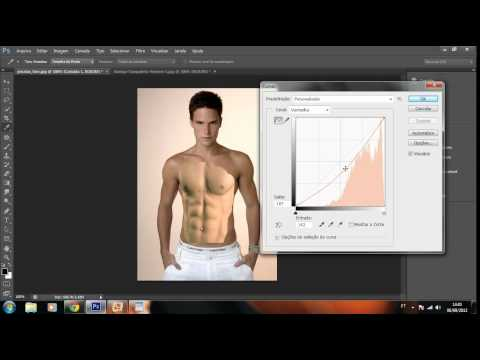 Colocando musculos com o Photoshop Cs6   Nivel 2