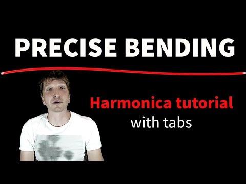 PRECISE BENDING - Harmonica tutorial
