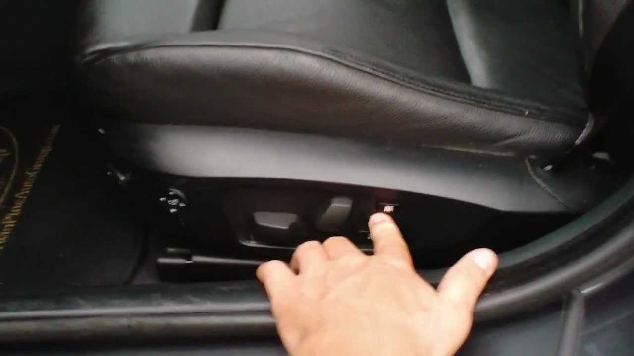 How To Use Memory Seats On Bmw Youtube