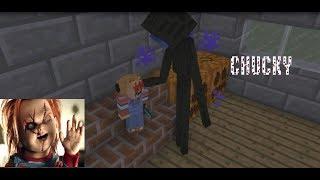 Monster School: CHUCKY HORROR GAME CHALLENGE - Minecraft Animation