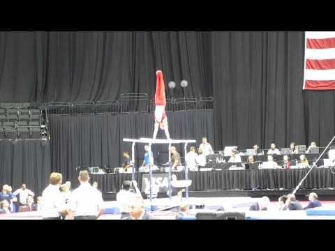 Sean Melton - 2011 Visa Championships - Parallel Bars