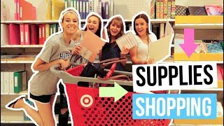 BACK TO SCHOOL SUPPLIES SHOPPING VLOG 2018!