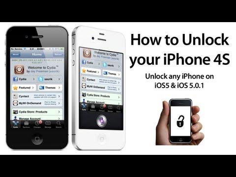 Как сделать анлок для айфон 4