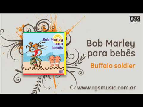 Bob Marley para bebes - Buffalo soldier