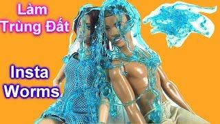 """Đồ Chơi Tạo """"Trùng Đất"""" Bằng Instant Worms [Phần 1] Barbie  Chơi Trùng Đất Đồ Chơi Khoa Học - Bí Đỏ"""