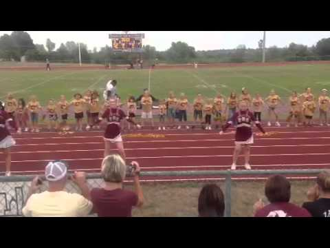 Mini cheer eldon high school