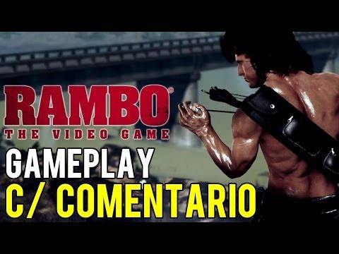 RAMBO - The Video Game (PS3) - GAMEPLAY (C/ COMENTARIO) [HD]