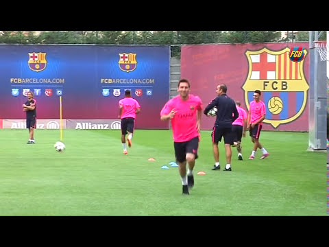 AWESOME Messi / Neymar / Mascherano - Basket