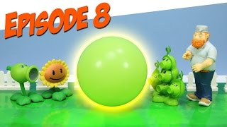 Plants vs. Zombies Toy Play Episode 8 Pea Pod's Cold