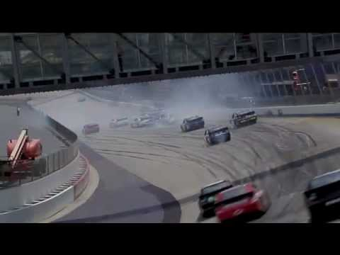 Massive 13-Car Crash 2012 NASCAR Sprint Cup Dover
