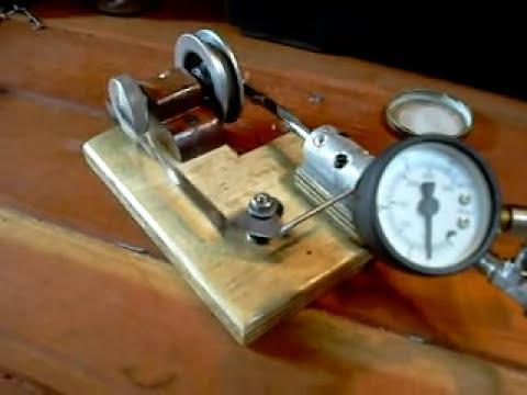 motor a vapor caseiro, motore a vapore