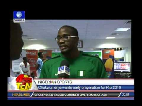 Start preparation for Rio 2016- Chukwumerije