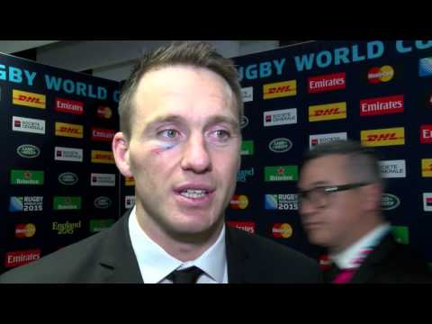 Post South Africa Semi interviews with Dan Carter and Ben Smith