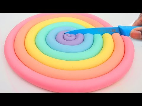 Rare Pastel Dough Popsicles Ice Cream Modelling Clay Mighty Toys Kids Video Learn Colors