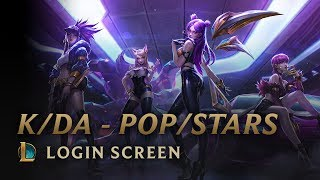 K Da Pop Stars Ft Madison Beer G I Dle Jaira Burns Login Screen League Of Legends