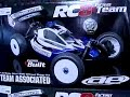 Team Associated RC8 Nitro Buggy Track Test
