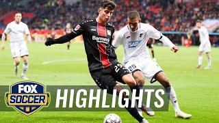 Bayer Leverkusen vs. 1899 Hoffenheim   2018-19 Bundesliga Highlights