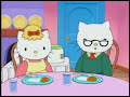 Hello Kitty - Los Habitos De Aseo De Kitty