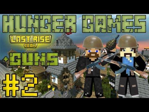 Рядовые Евгеха и Свордкипер - Minecraft Hunger Games #2 [+guns] [LastRise]