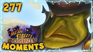 Luckiest Noggenfogger Ever!! | Hearthstone Gadgetzan Daily Moments Ep. 277 (Funny and Lucky Moments)