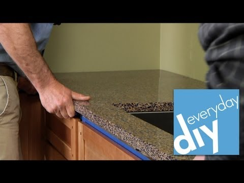 Buildipedia DIY - How to Install a Kitchen Countertop