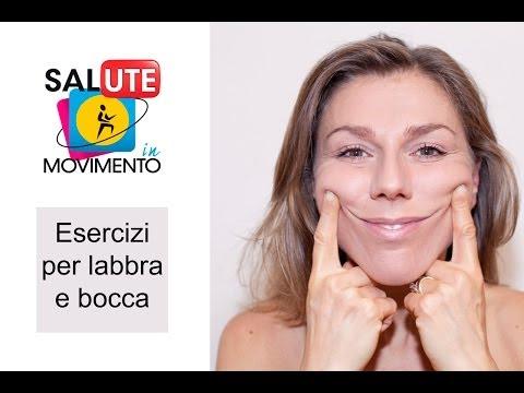 Tutorial di ginnastica facciale #1   Esercizi per labbra e bocca