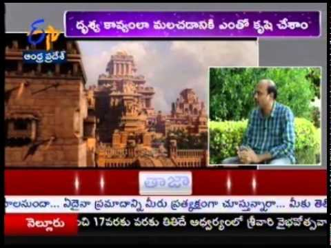 ETV Exclusive Interview With BAAHUBALI Movie Visual Effects Designer Srinivas Mohan Photo Image Pic