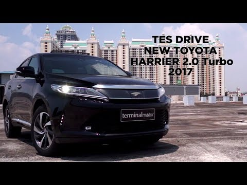 Review Toyota Harrier 2.0L Turbo
